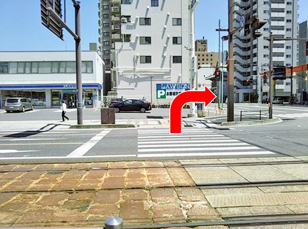 横川駅方面行き電車からのアクセス写真3