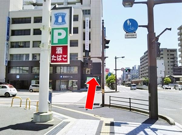 横川駅方面行き電車からのアクセス写真4