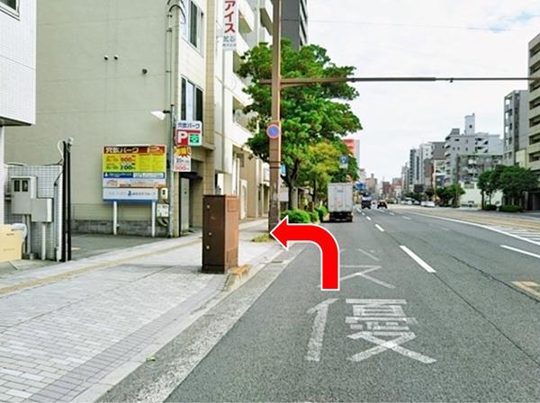 広島駅方面よりお車でらのアクセス写真2