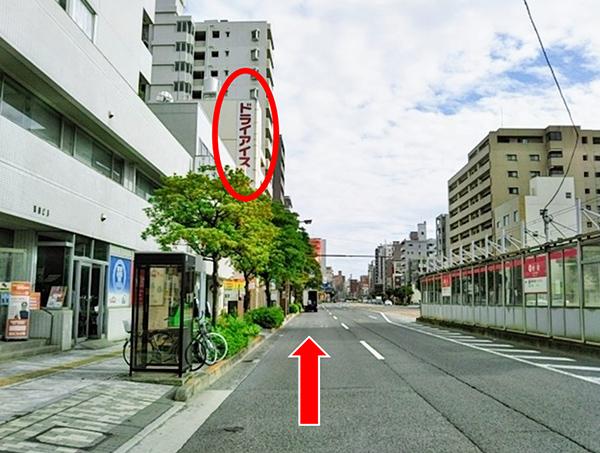 横川駅方面よりお車でらのアクセス写真1