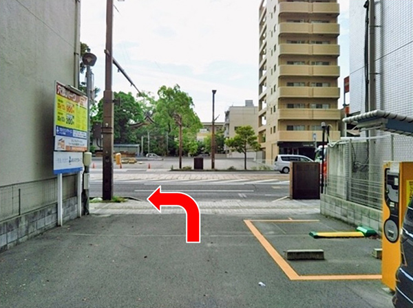 横川駅方面よりお車でらのアクセス写真2