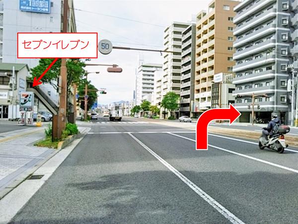 横川駅方面よりお車でらのアクセス写真3